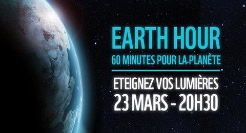 Eteignez vos lumi�res le samedi 23 mars entre 20h30 et 21h30